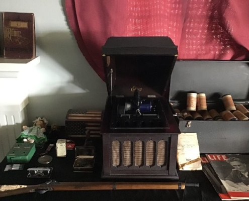 Estate Sales Antique Yarn and Sewing machine