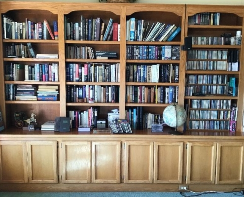 Estate Sales Books and CDs